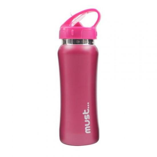 ΠΑΓΟΥΡΙΑ MUST ΜΟΝΟΧΡΩΜΑ 500 ml BPA FREE ΚΟΚΚΙΝΟ
