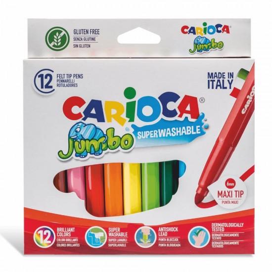 Carioca jumbo superwashable 12 χρώματα