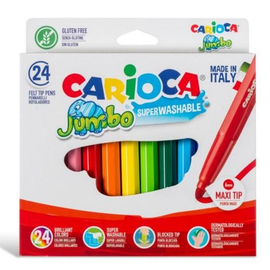 Carioca jumbo superwashable 24 χρώματα