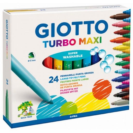 Giotto Turbo maxi 24 χρώματα