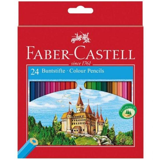 Ξυλομπογιές Faber-Castel 24 τεμαχίων