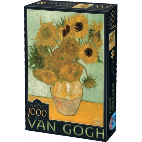 ΠΑΖΛ 1000 ΤΕΜΑΧΙΩΝ - VINCENT VAN GOGH - SUNFLOWERS