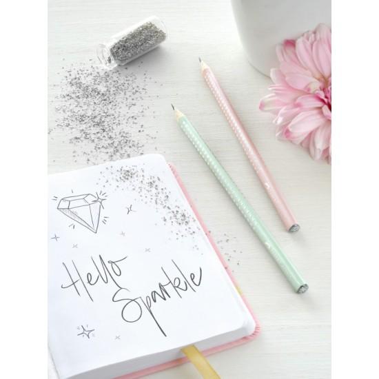 FABER-CASTELL μολύβι SPARKLE Λιλά