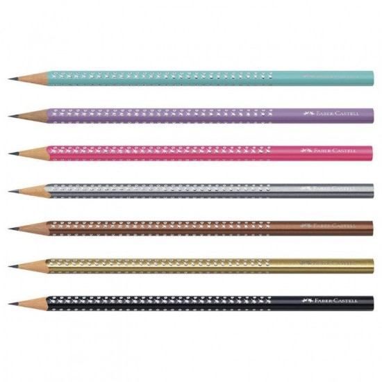 FABER-CASTELL μολύβι SPARKLE Λευκό