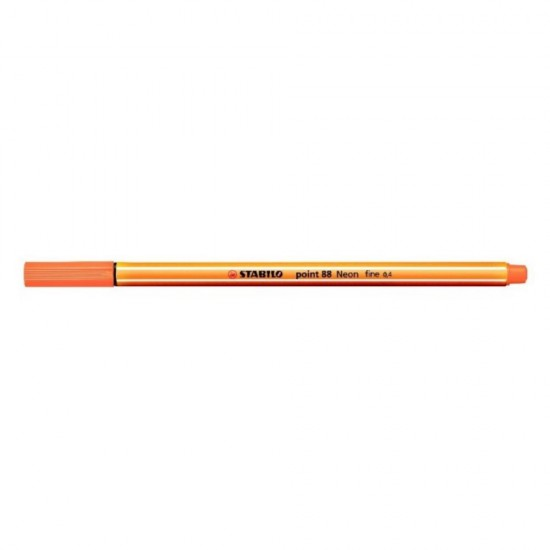 Stabilo point 88/054 Πορτοκαλί Φωσφοριζέ