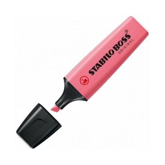 Μαρκαδόρος υπογράμμισης Stabilo Boss 70/150 Pastel Ροζ Κερασί