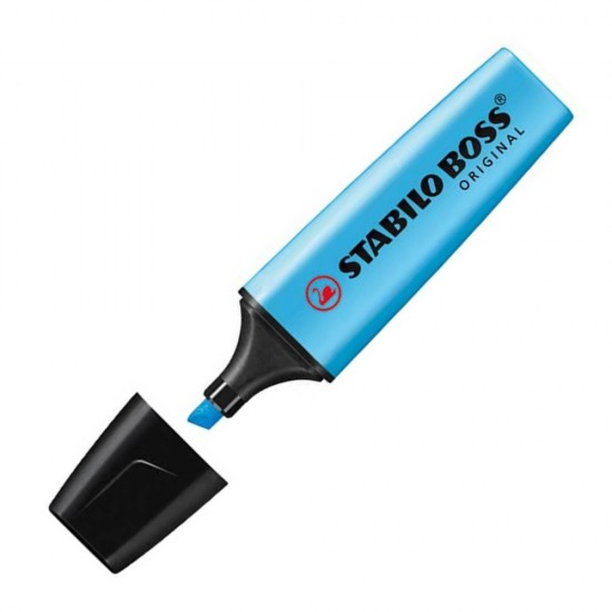 Μαρκαδόρος υπογράμμισης Stabilo Boss 70/31 μπλε