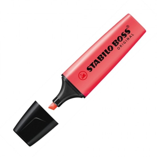 Μαρκαδόρος υπογράμμισης Stabilo Boss 70/40 κόκκινος